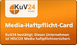 KuV24-media - Media-Haftpflicht-Card - Klicken Sie hier um diese Versicherung jetzt zu validieren